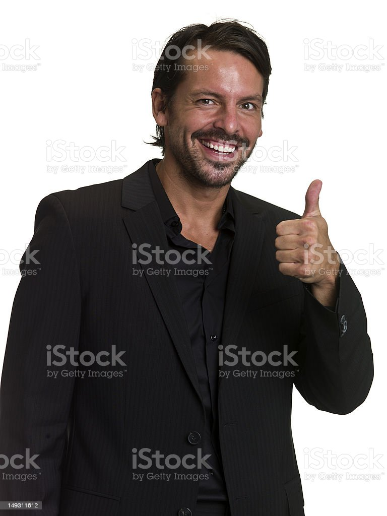 Everything is all right royalty-free stock photo