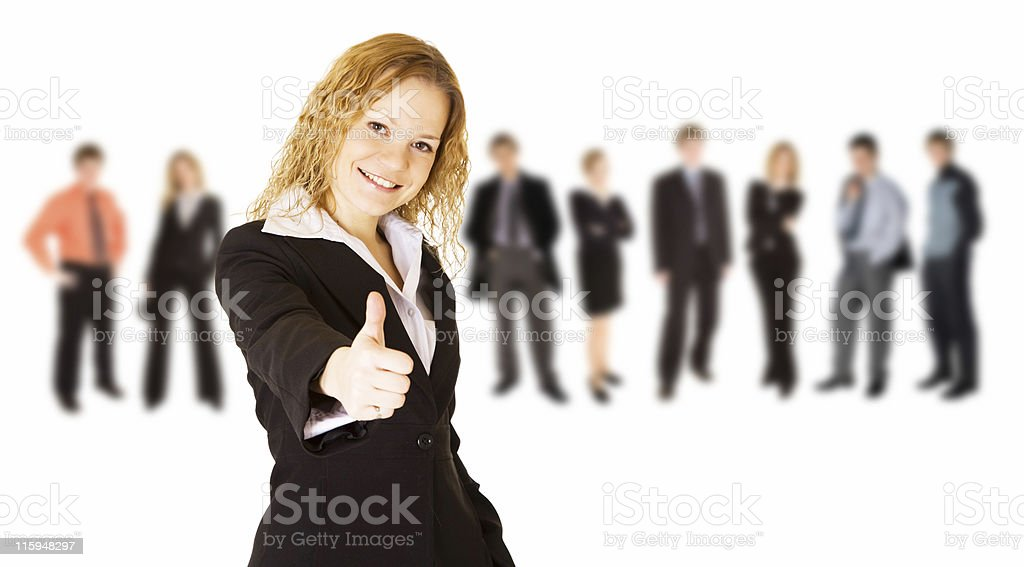 Everything is fine! royalty-free stock photo