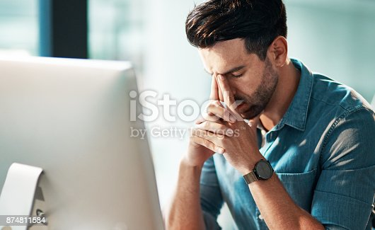 istock Everything is going wrong today 874811584