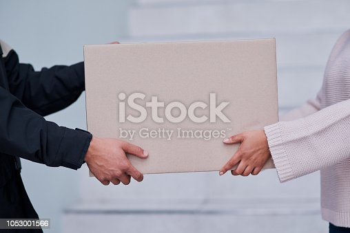 1053001624 istock photo Everything is signed, time to hand over the package 1053001566