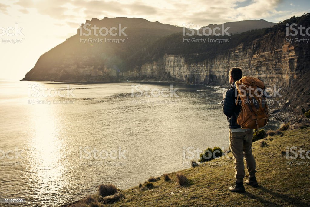 Everything is so beautiful out here stock photo