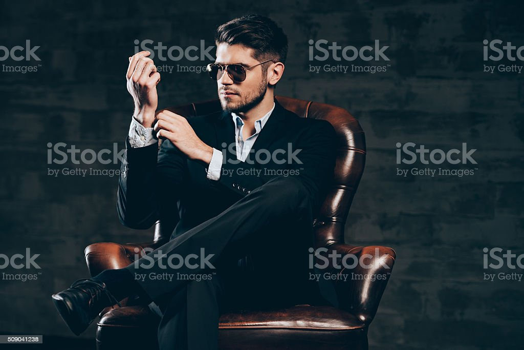 Everything must be perfect. stock photo