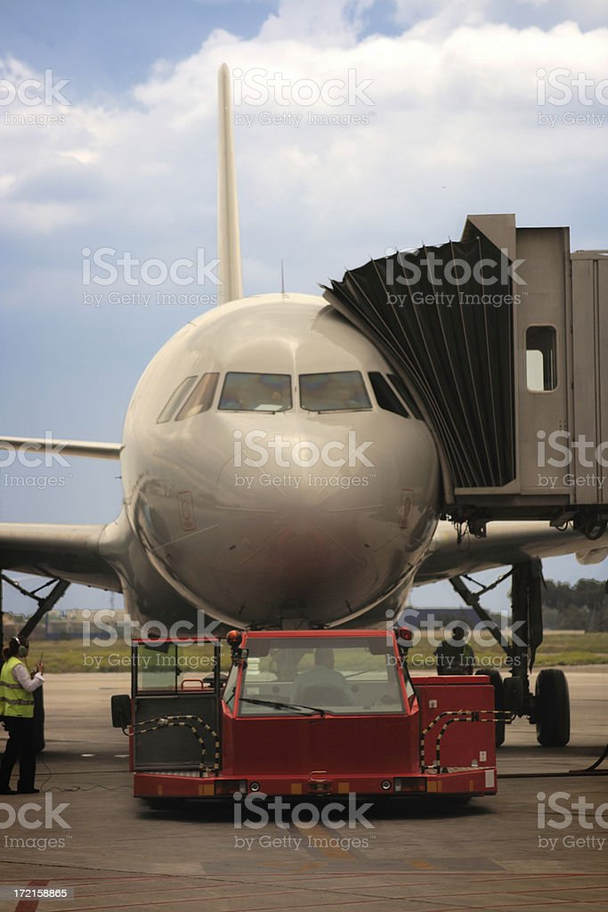 Everything ready for the flight SERIES royalty-free stock photo