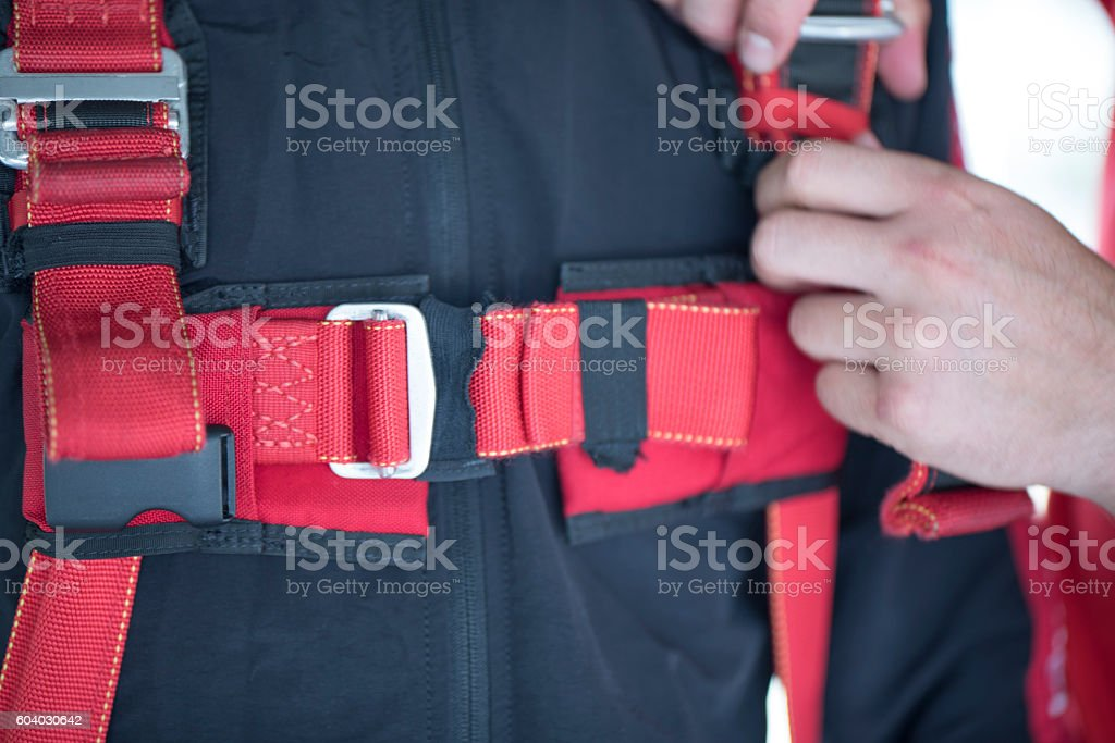 Everything should be fastened well stock photo