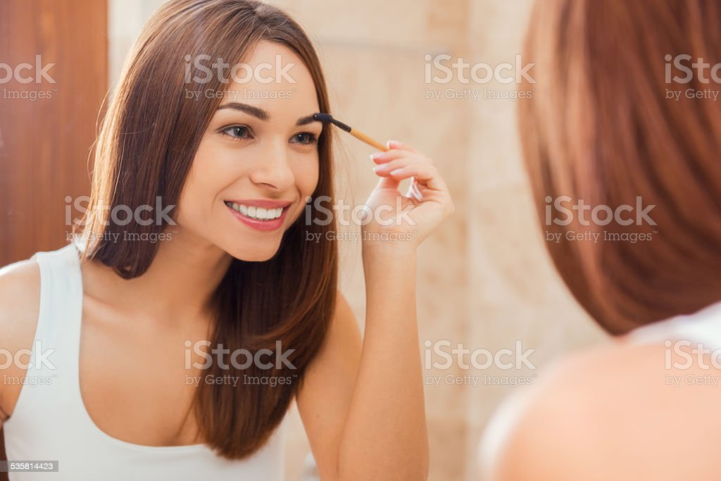 Everything should be perfect. stock photo