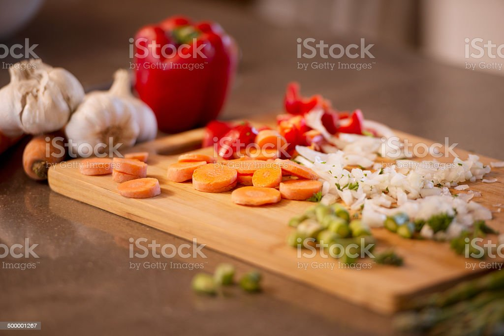 Everything you need for a great soup stock photo