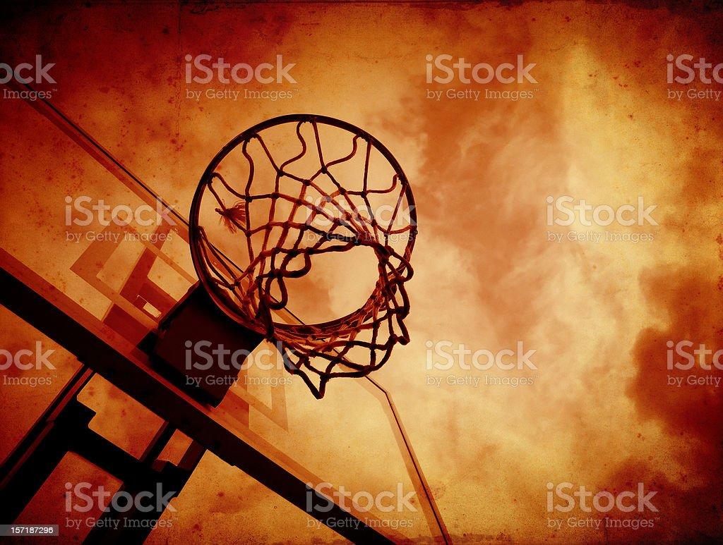 evil basketball royalty-free stock photo
