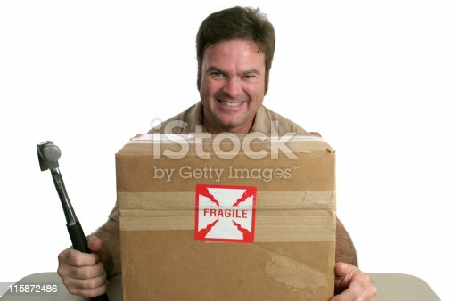 istock Evil Delivery Man 115872486