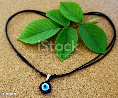 istock Evil eye amulet 843830136