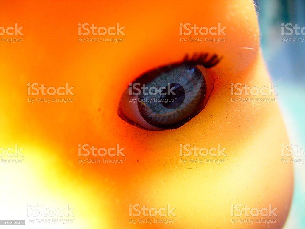 Evil eye royalty-free stock photo