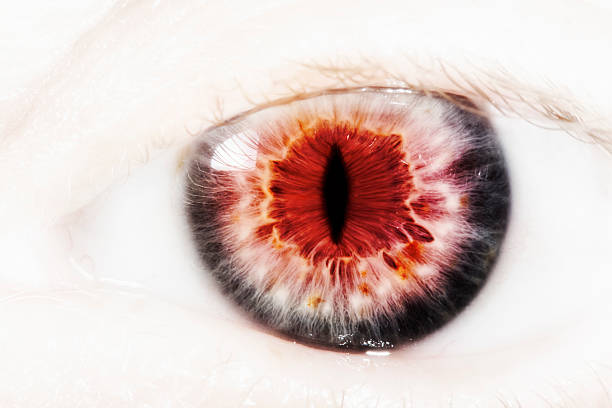 evil eye - demon stock photos and pictures