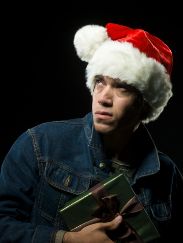 Evil Santa Stock Photo - Download Image Now