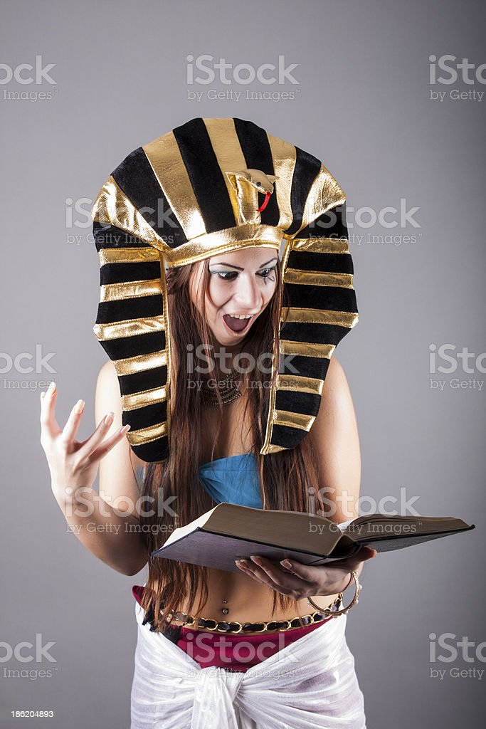 evil witch making the witchcraft royalty-free stock photo