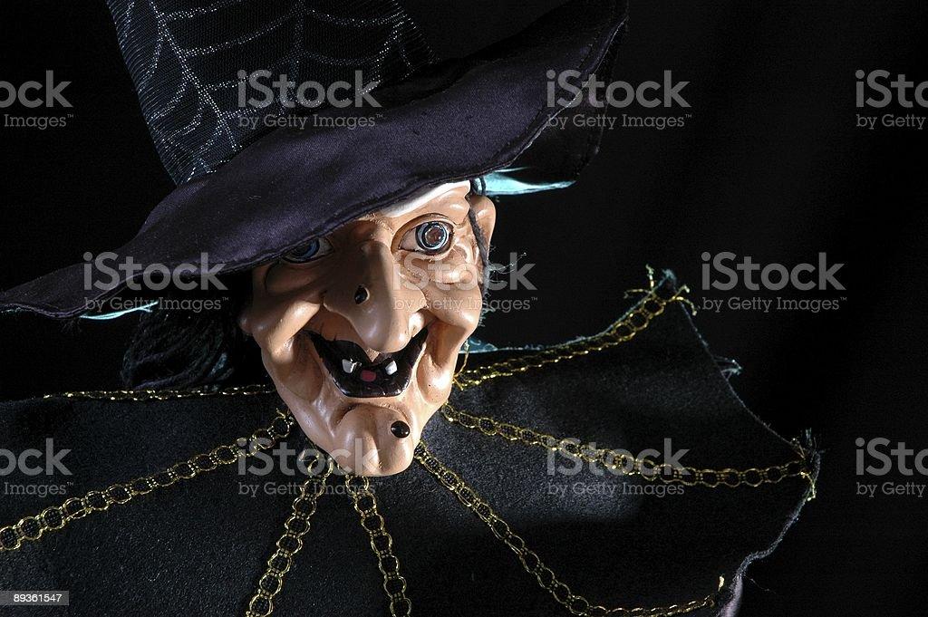 Evil Witch royalty free stockfoto