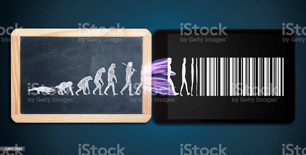 Évolution de la vie moderne - Photo
