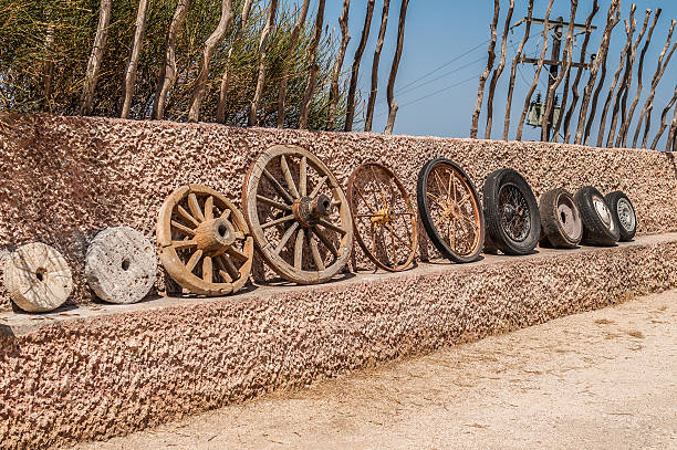Evolución de ruedas - foto de stock
