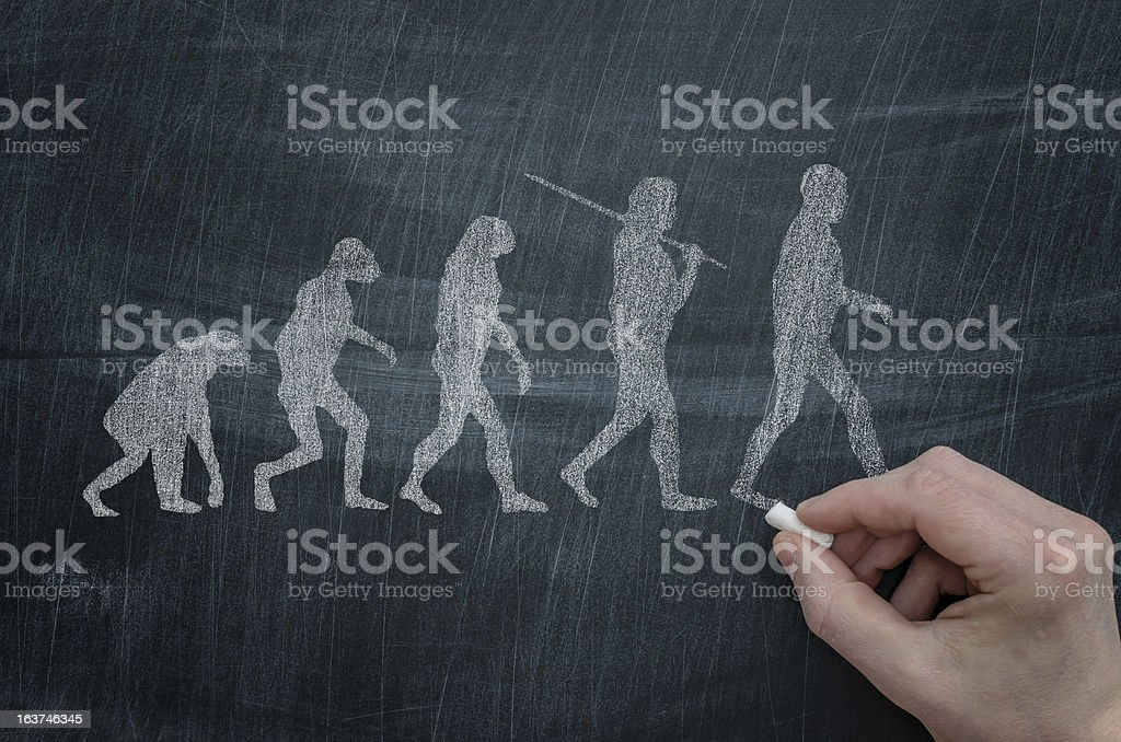 Evolution - foto de stock