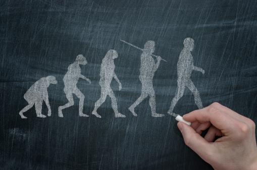 Evolution Foto de stock y más banco de imágenes de ADN