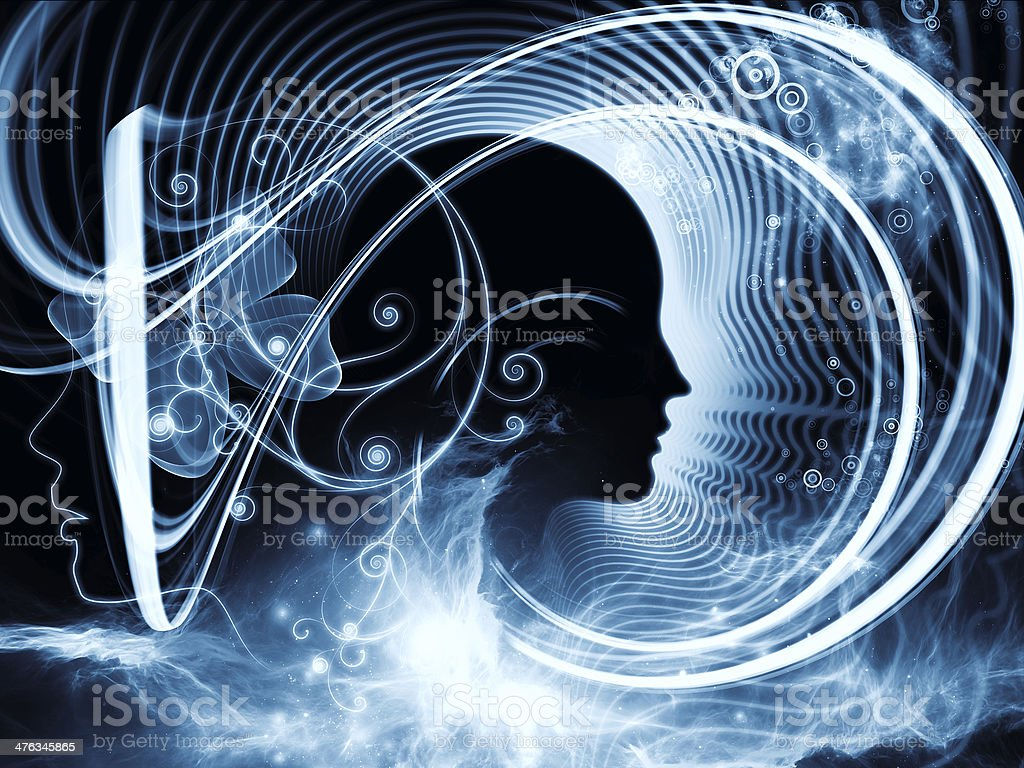 Evolving Human Mind royalty-free stock photo