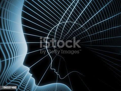 istock Evolving Soul Geometry 186337466