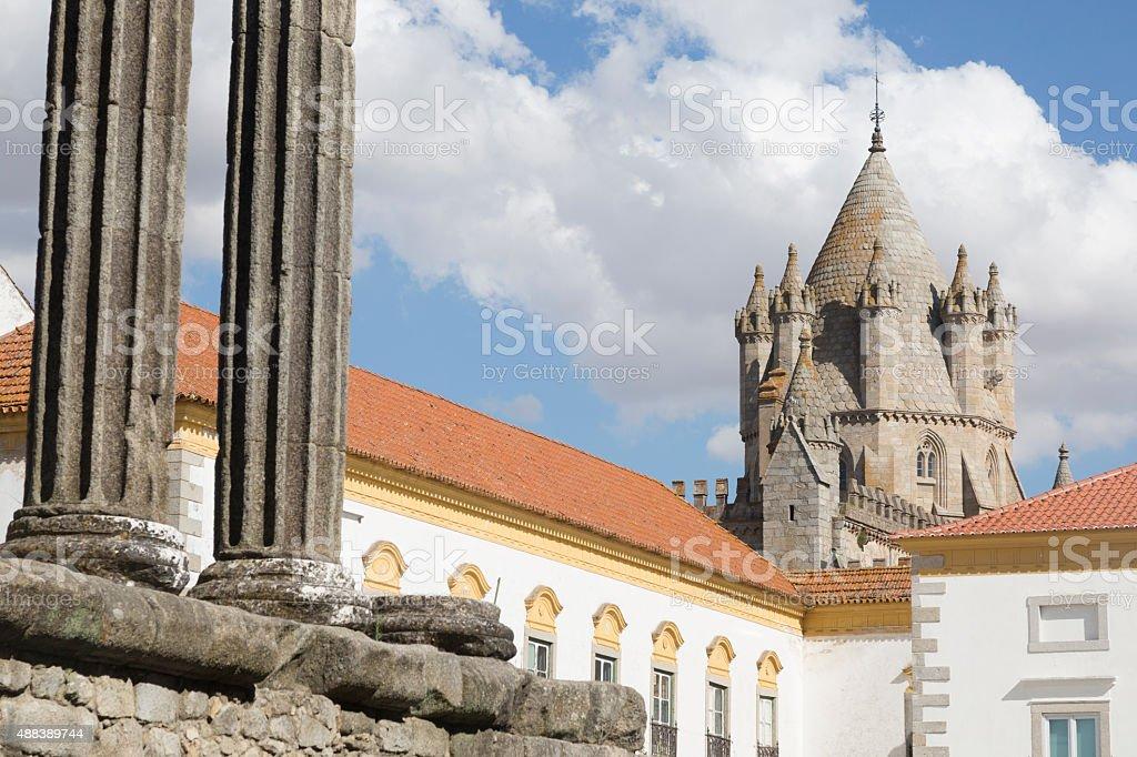 Evora, Portugal stock photo