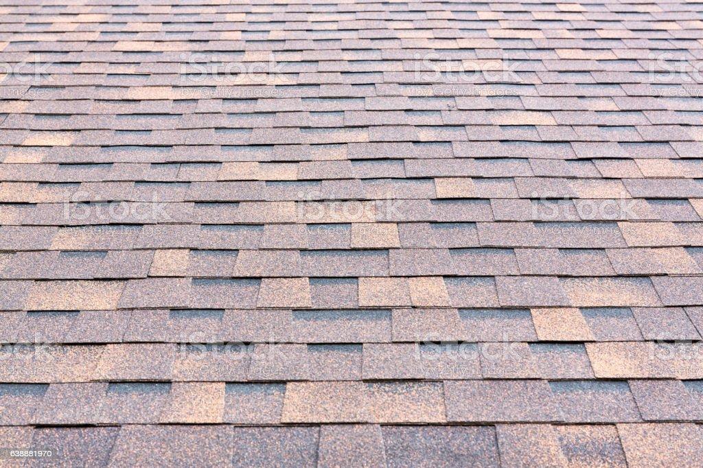 ew rubber roof tiles stock photo