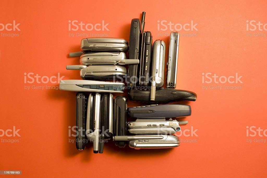 E-waste royalty-free stock photo