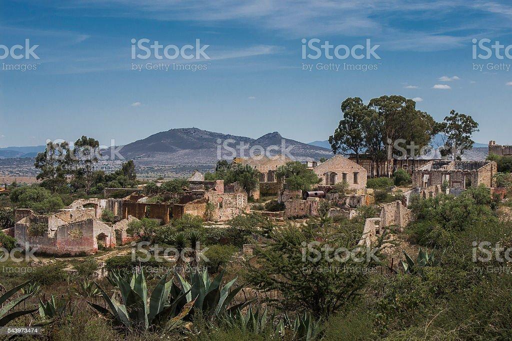 ex hacienda stock photo