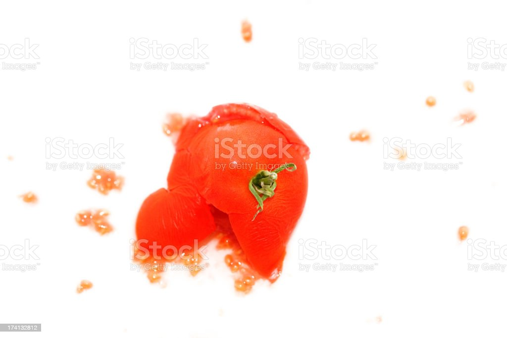 Ex tomato royalty-free stock photo