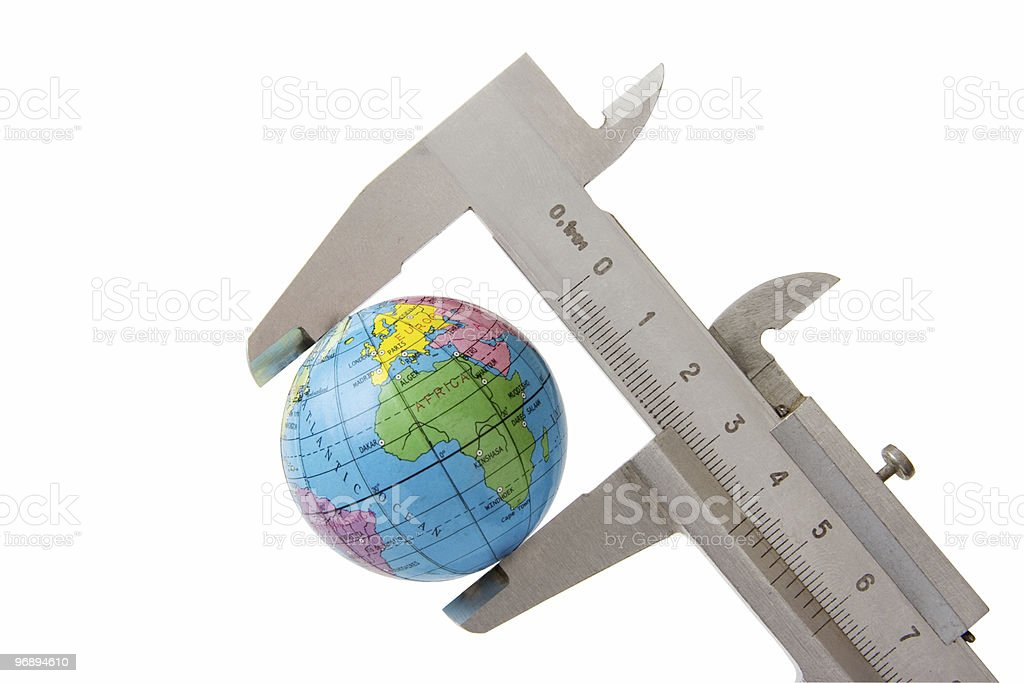 Exact measurements in large scale ; royalty-free stock photo