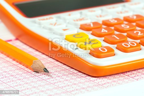 Exam and calculator