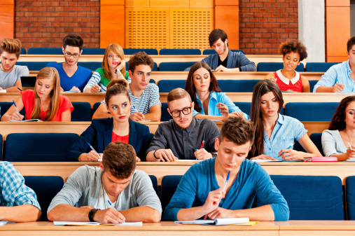 Exam At The University Stock Photo - Download Image Now