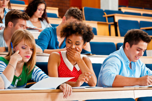 Exam At The Univertisty Stock Photo - Download Image Now