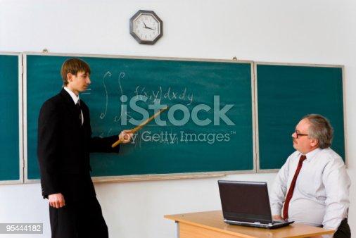 istock Exam in mathematics 95444182