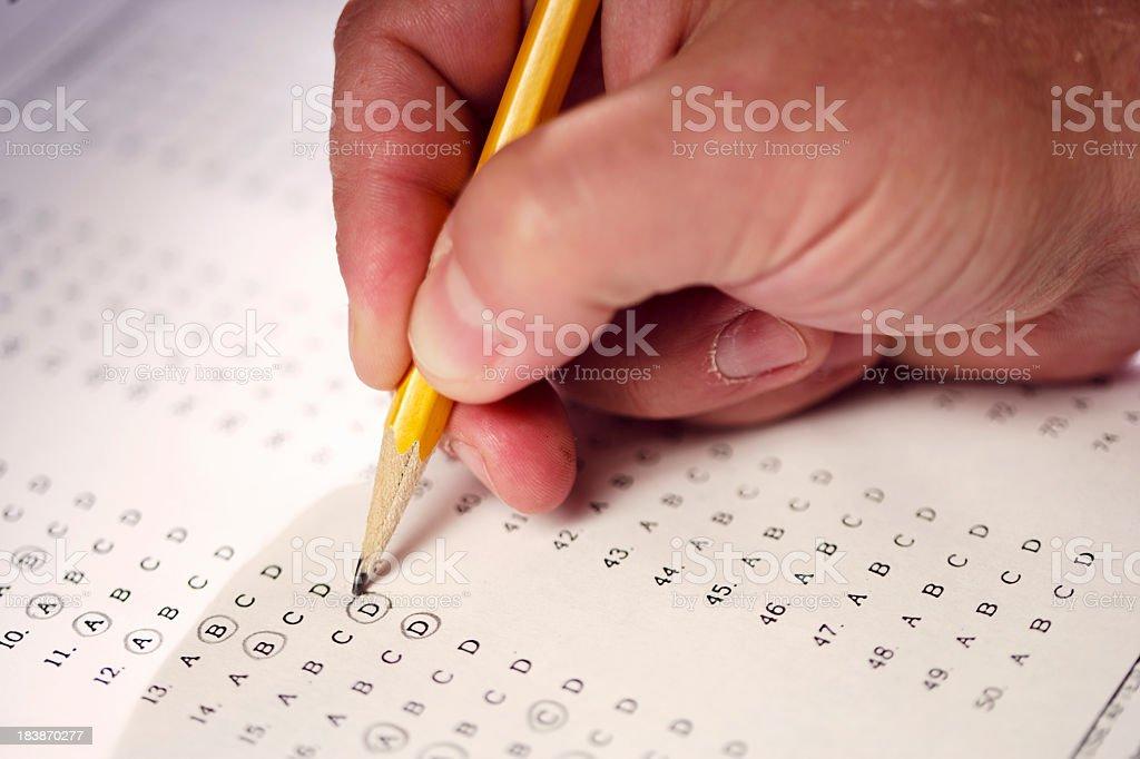 Exam stock photo