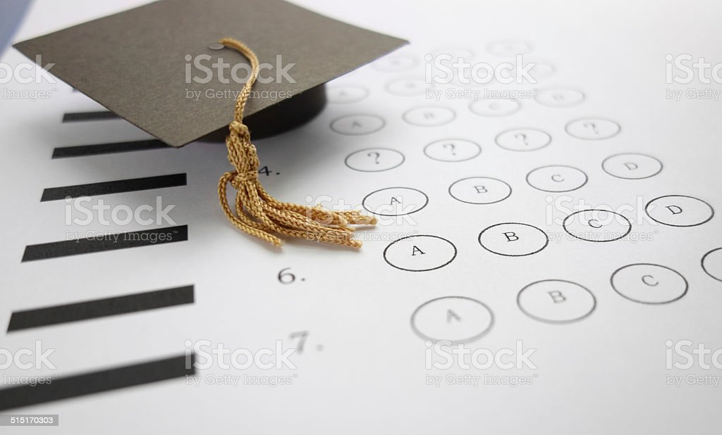 exam question stock photo