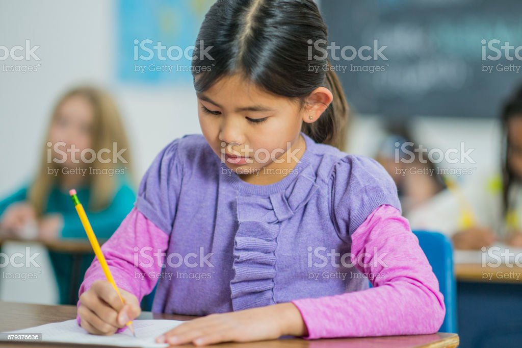 Exam Time stock photo