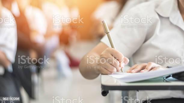 Exam with school student having a educational test thinking hard in picture id963192098?b=1&k=6&m=963192098&s=612x612&h=wlcw3rpsqzl3bgbyidjnd1atk7hniifixtyvslstp4y=