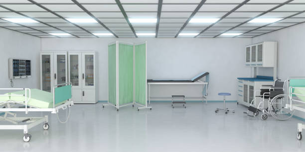 examination room in hospital - doctors office stock pictures, royalty-free photos & images