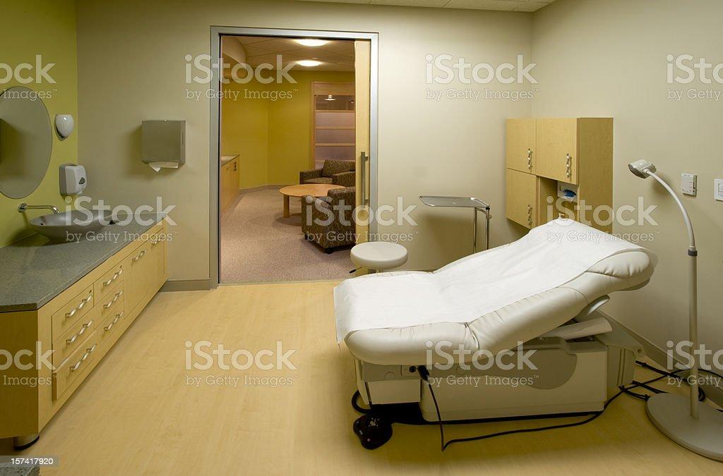 Examination room, medical building stock photo