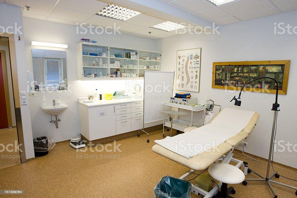 Examination Room stock photo