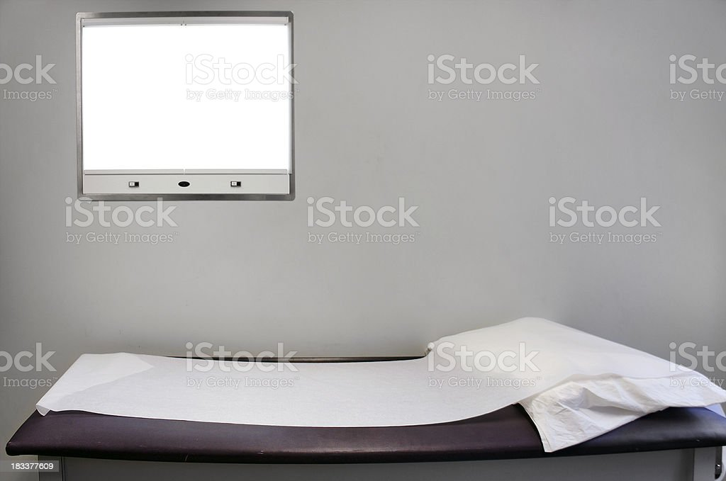 Examination room stock photo