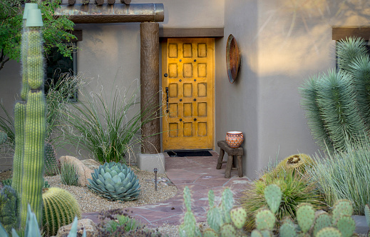 Example Of Desert Southwest Adobe Outdoor Architecture