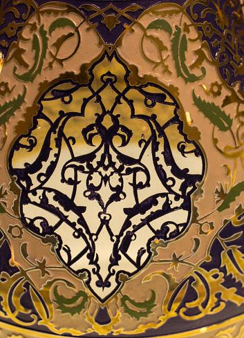 Voorbeeld Van Ottomaanse Kunst Patronen In Beeld Stockfoto en meer beelden van Antiek - Ouderwets