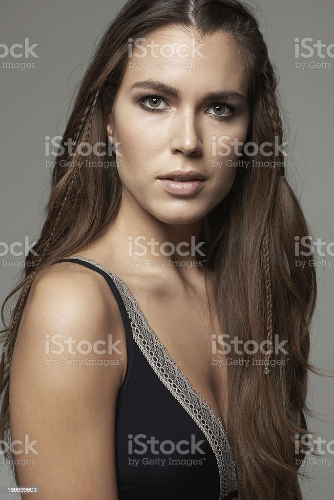 Example of perfect beauty royalty-free stock photo