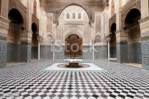 istock Examples of Moroccan architecture 509423788