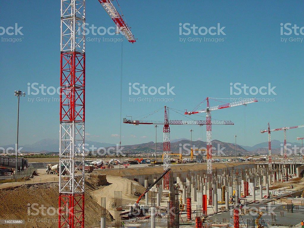 excavation 1 stock photo
