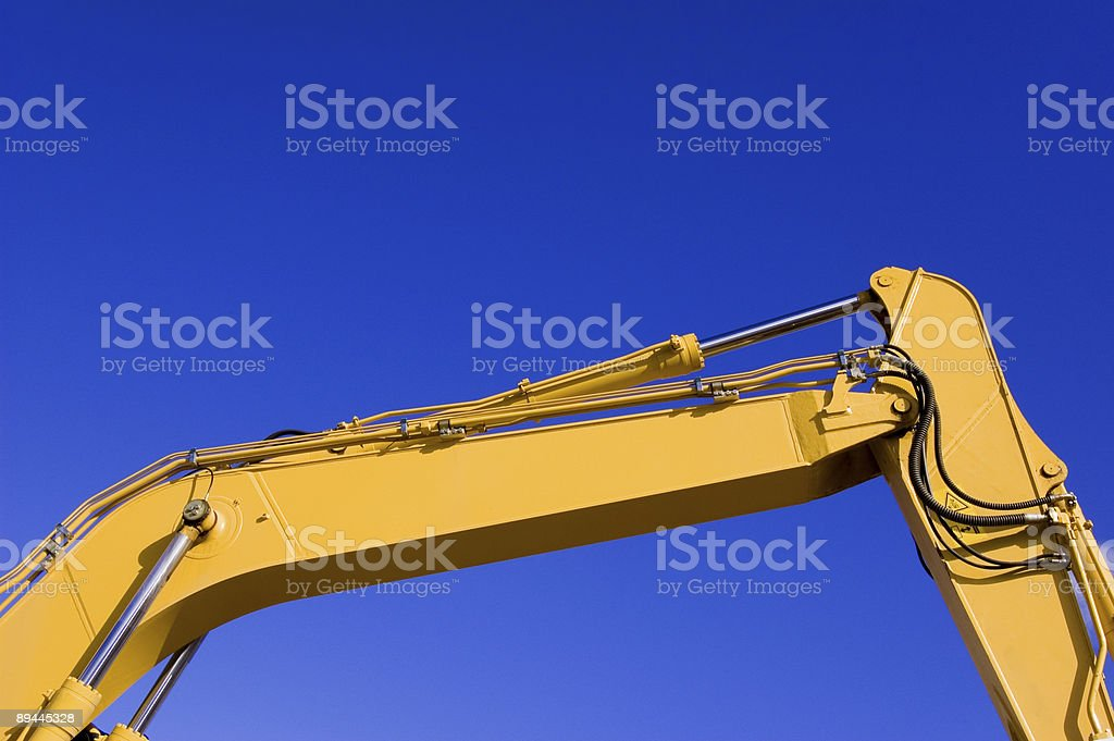 Excavator Arm royalty-free stock photo