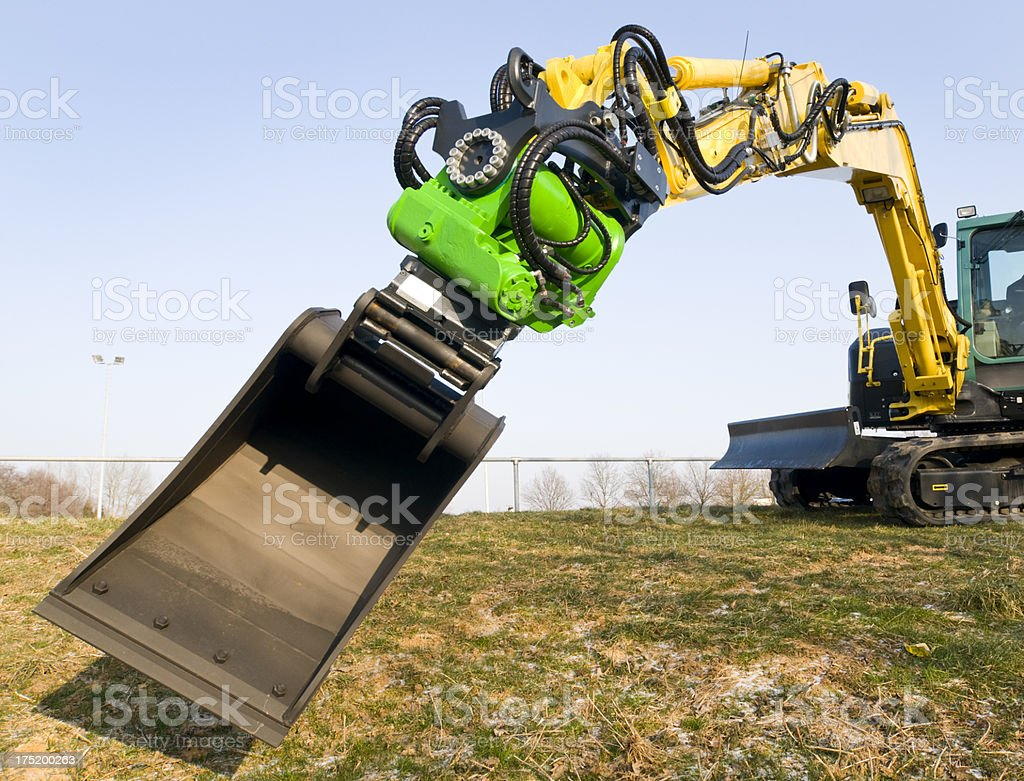 Excavator royalty-free stock photo