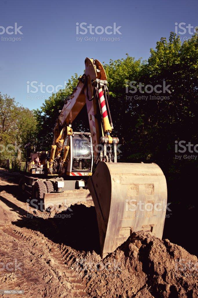 Excavator Lizenzfreies stock-foto